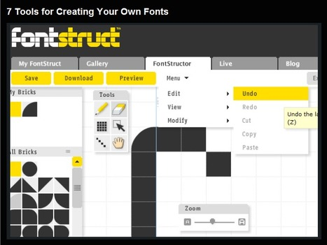7 Free Tools for Creating Your Own Fonts | Time to Learn | Scoop.it