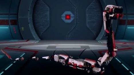 Lego llega a era digital con serpiente robótica - El Financiero | mecatronica | Scoop.it