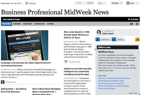 Oct 3 - Business Professional MidWeek News | Business Updates | Scoop.it