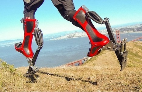 Futuristic Bionic Boots Literally Put a Spring in Your Step | Strange days indeed... | Scoop.it