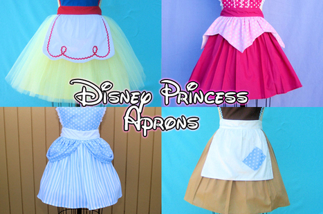 Magical Disney Princess Aprons, For After Your Happily Ever After - FOODBEAST   Brave - Changing Faces of Disney Princesses   Scoop.it
