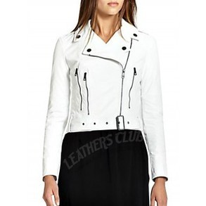 Anne Hatheaway - Get Smart White Jacket - Women Leather Jackets | Women Leather Jackets | Scoop.it