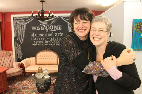 BLUESCHOOL ARTS: Founder envisions a place for novices, inspiration - South Whidbey Record (subscription) | Technology in Art And Education | Scoop.it