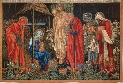 Press Releases, Manchester School of Arts and HMG Paints help uncover secrets of Edward Burne Jones Tapestry - HMG Paints Limited | Visual Culture and Communication | Scoop.it