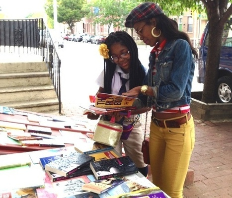 Pop-Up Libraries Blossom in Philadelphia and Beyond | School Library Journal | School Librarianship | Scoop.it