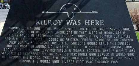 Derpasaurus Rex | ultrafacts: Kilroy was here is an American... | Kilroy Was Here | Scoop.it