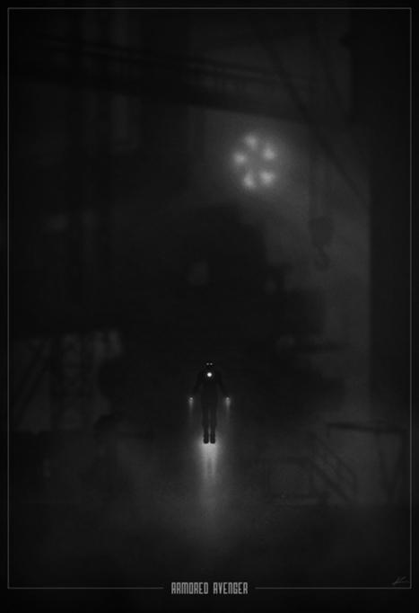 Superhero Noir Posters | Glanages & Grapillages | Scoop.it