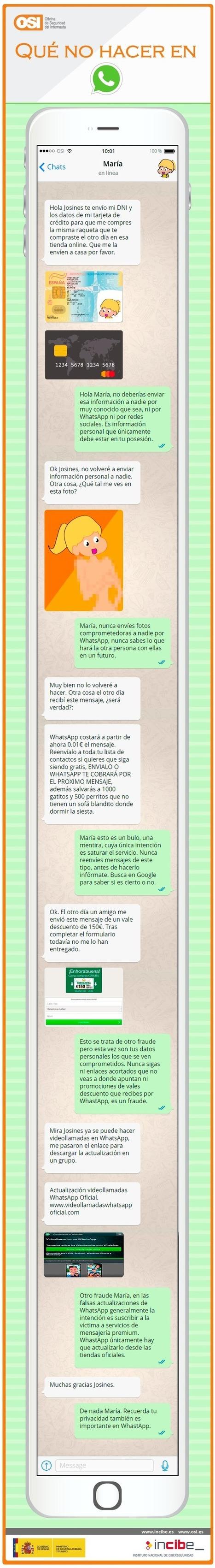 Qué no debes hacer en WhatsApp | Lenguaticadas | Scoop.it