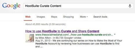 Google+ Adds Embedded Posts and Author Attribution   The Content Marketing Hat   Scoop.it