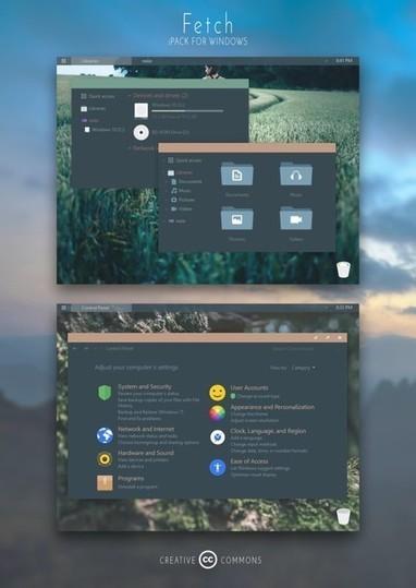20 temas e iconos para personalizar la apariencia de Windows 10 | Aplicaciones, Software, Apple, Windows... | Scoop.it
