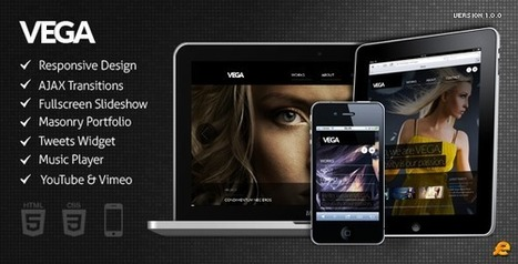 VEGA WordPress Responsive Theme | Wordpress Themes | Scoop.it