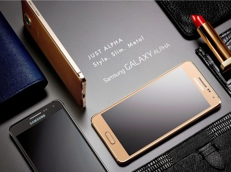 Mobile n Mobility: Queen of Galaxy Unveiled by Emperor of Smaprtphones: Samsung Launches Galaxy Alpha | Project Management and Quality Assurance | Scoop.it