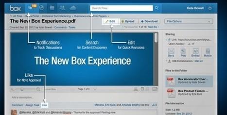 Box anuncia Box Embed para la unificación del acceso y gestión de archivos compartidos desde diferentes aplicaciones | Tic, Tac... y un poquito más | Scoop.it