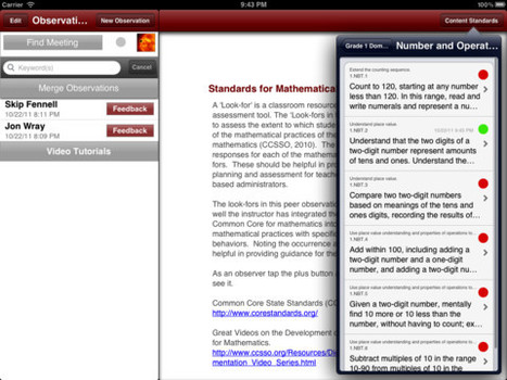App Store - Common Core Look-fors (Mathematics) | educational reform | Scoop.it
