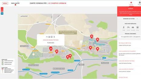 Une carte interactive pour s'informer sur les chantiers de Paris-Saclay   Coupvray bouge et témoigne   Scoop.it