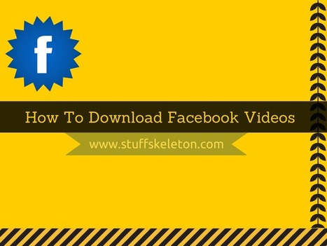 How To Download Videos From Facebook Online :)   How to guides   Scoop.it