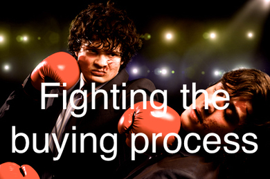 Don't Fight the Customer's Buying Process – Sales for Nerds | The Buyers Path | Scoop.it
