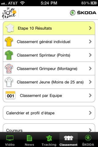 Application officielle du Tour de France 2011 pour iPhone, iPod touch et iPad sur l'iTunes App Store | Toulouse networks | Scoop.it