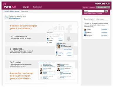 Recherche d'emploi : RégionsJob lance une application pour s'appuyer sur les réseaux sociaux   CommunityManagementActus   Scoop.it