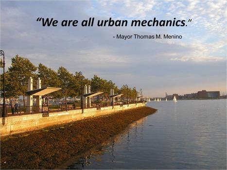 Boston | New Urban Mechanics | Delivery of Public Services | Scoop.it