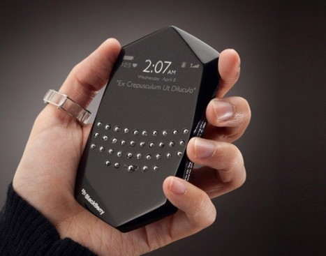 BlackBerry Empathy Concept : le smartphone émotif | Art, Design & Technology | Scoop.it
