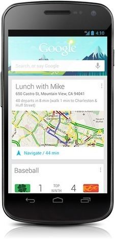 Google Now offers contextualised information | Tips and feedback for geeky entrepreneurs | Scoop.it