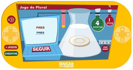 Um Jogo para aprender o plural | Banco de Aulas | Scoop.it