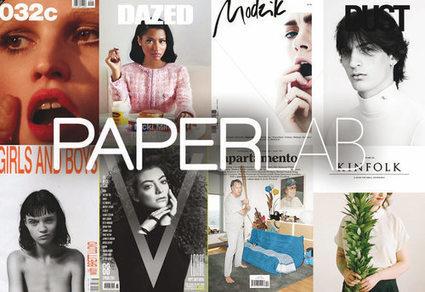 Paperlab: la nouvelle adresse de la presse mode internationale du Marais | Veille, actualités et tendances pour tous les passionnés de mode, d'art et de design | Scoop.it