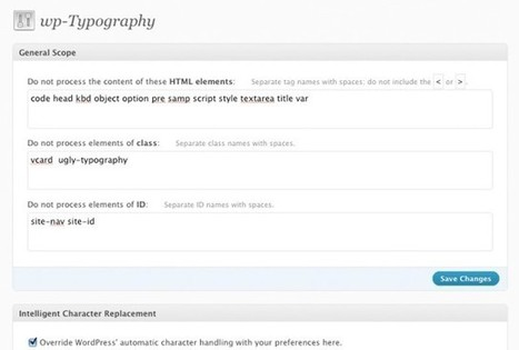 Typography Can Do Wonder in Your WP Site, Don't You Think So! | PSD to Wordpress | Scoop.it