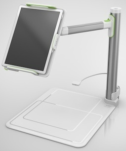 Gadget Turns an iPad into a Document Camera -- THE Journal | iPads and Tablets in Education | Scoop.it
