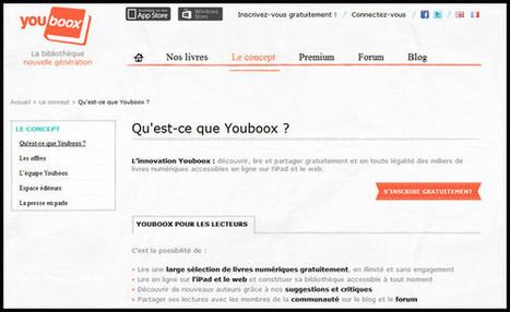 Youboox votre bibliothèque numérique gratuite et illimitée | Time to Learn | Scoop.it
