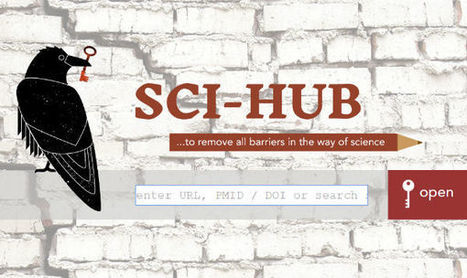 Elsevier Complaint Shuts Down Sci-Hub Domain Name - TorrentFreak | Research Tools Box | Scoop.it