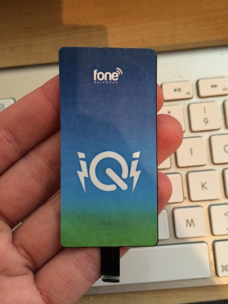 Review: iQi Mobile makes wireless charging a reality for iPhones ... | Battery Powered iphone charger | Scoop.it
