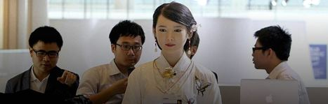 China's Robot Goddess is the best 'humanoid' you're ever likely to see | Business Transformation | Scoop.it