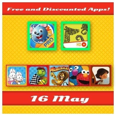 Kids Apps Deals - Top Kids Apps Going FREE! - May 16 - Fun Educational Apps for Kids: Reviews, Daily Deals and Giveaways | Best Apps for Kids | Scoop.it