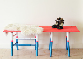 DIY : 2 chaises = 1 banc ! | DIY DIY | Scoop.it