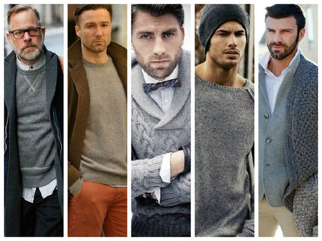 The Grey Menswear Trend - STYLE RUG | Mens Fashion Updates! | Scoop.it