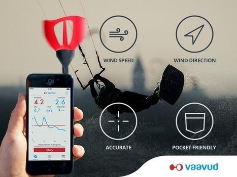Vaavud wind meter V 2.0   Crowdfunding Nautisme   Scoop.it