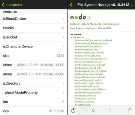 DailyJS: A Node Interpreter for iOS | Web Innovation development | Scoop.it