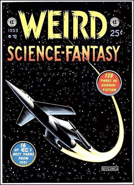 001 Edizioni - COVER Weird Science Fantasy | 001 Edizioni | Scoop.it