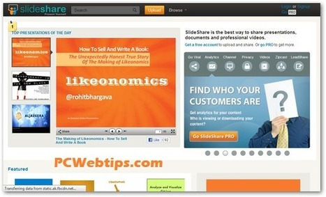 10 Mejores Herramientas Para Crear Presentaciones Online|PCWebtips.com | Herramientas web 2.0 | Scoop.it