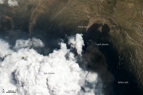 Satellite Looks Down the Eye of Erupting Nabro Volcano | Planets, Stars, rockets and Space | Scoop.it