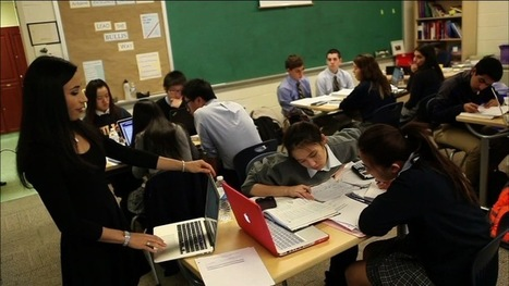 How 'flipped classrooms' are turning the traditional school day upside down | PBS NewsHour | Dec. 11, 2013 | Favorite Education Bookmarks | Scoop.it