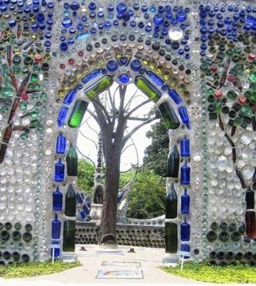 Arco moresco fatto con bottiglie (foto)   Laranocchia   Scoop.it