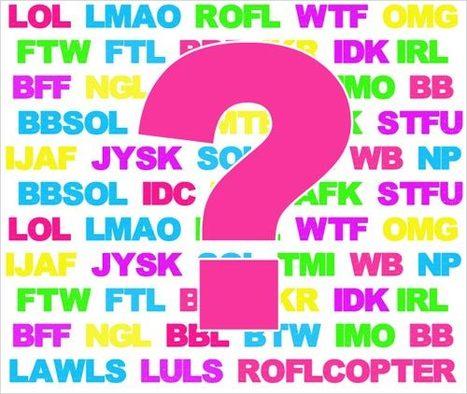 Internet Slang words - Internet Dictionary - InternetSlang.com | 1-MegaAulas - Ferramentas Educativas WEB 2.0 | Scoop.it