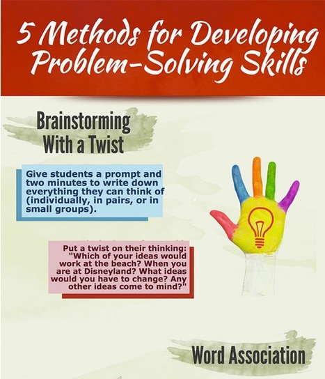 5 Methods for Developing Problem-Solving Skills > Eye On Education | 21 century Learning Commons | Scoop.it
