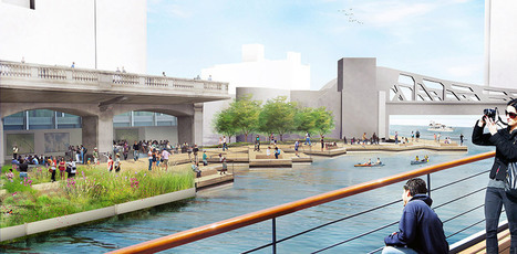 Chicago's Riverwalk Project: Revitalization, public space + community identity | green streets | Scoop.it