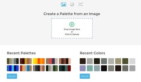 ColorFavs : créer une palette de couleurs à partir d'une image | TICE, Web 2.0, logiciels libres | Scoop.it