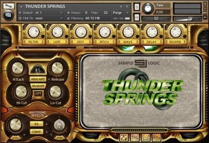 Sample Logic Releases Thunder Springs – Hybrid Percussion Virtual Instrument - SonicScoop | Logic Studio & Logic Tutorials | Scoop.it