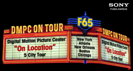 """Save the date for Sony's DMPC """"On Location Tour""""   Sony Professional   Scoop.it"""